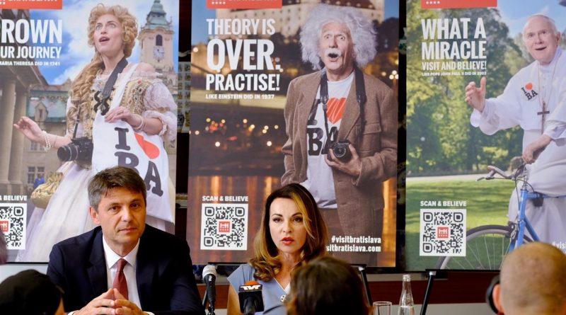 Столица готовится к летнему сезону: У Братиславы новая туристическая кампания
